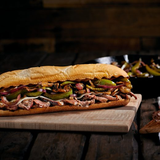 Planked Cheesesteak