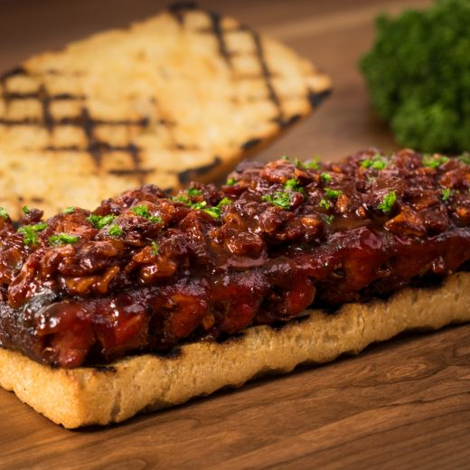 Giant Smoked Rib Sandwich with Chipotle Maple Jam
