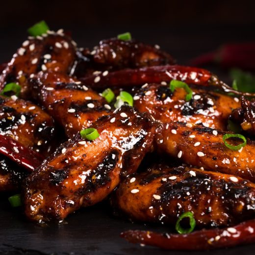 General Tso Grilled Wings