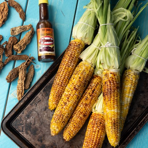 Chipotle Grilled Corn on the Cob
